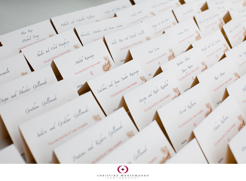 Wedding details: elegant paisley invitations, place cards, and more! - Pittsburgh Wedding ...